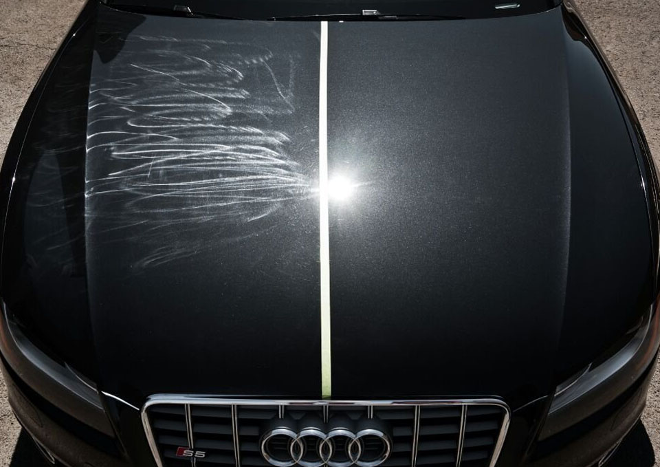 Image result for car scratch remove before after